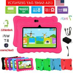 "7"" inch Quad Core HD Tablet PC for Kids 8GB+1GB Android 8.1"