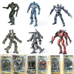 "7"" inch Scale Pacific Rim Jaeger Action Figure Toys Gift Set"