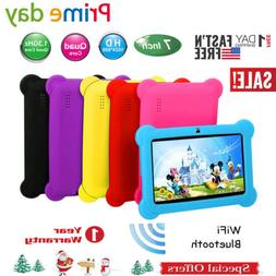 "7"" inch Tablet Android Kids PC WIFI Quad Core Dual Camera 1."