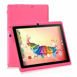 7 inch Tablet,Google Android 8.1 Quad Core 1024x600 Dual Cam