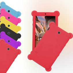 For 7 inch Tablet Kids Pad Universal Soft Silicone Shockproo