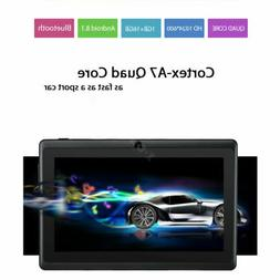 """7"""" Inch Tablet PC Android Quad Core 16GB/8GB HD WIFI Dual Ca"""