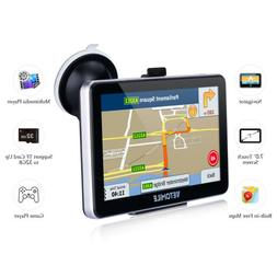 7 inch Touch Screen 8GB Multi-media Truck Car GPS Navigation
