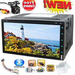7 Inch Touchscreen Double 2DIN no GPS Stereo Car DVD Radio P