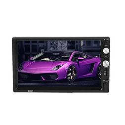 7033DR 7 Inch 2Din Car Stereo MP5 Player FM Radio Bluetooth