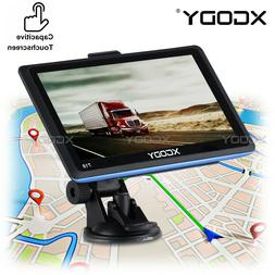 XGODY 718 7 inch Car Truck HGV GPS Navigation BT hands-free