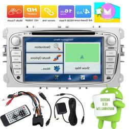 7inch 2DIN Android 6.0 Car DVD/CD Radio BT GPS Navi For Ford