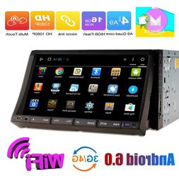 7inch Android 6.0 Double 2Din InDash Car DVD Radio Stereo Pl