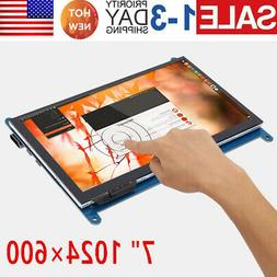7inch Capacitive Touch Screen LCD Display Monitor 1024x600 H