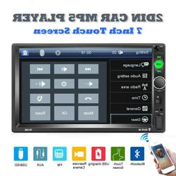 7inch Car Stereo Radio MP5 MP3 Player Bluetooth 2 Double DIN