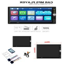 7inch DOUBLE 2DIN Car MP5 Player BT Tou+ch Screen Stereo Rad