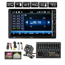 7inch HD 2Din Touch Screen Car Stereo MP5 Player Radio Andro