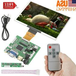 7inch LCD Screen Display Monitor for Raspberry Pi + Driver B