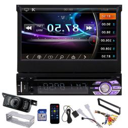 7inch Touch Screen Car MP5 Stereo Radio Single 1 DIN Flip ou