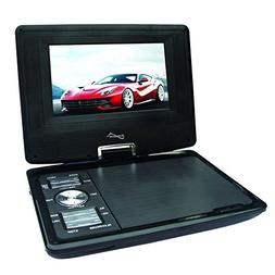 SuperSonic Portable TFT Swivel Display DVD Player with Digit