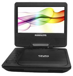 Sylvania Portable DVD Player SDVD7027-C, 7-Inch, Swivel Scre