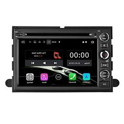 YINUO Quad Core 16GB 7 Inch Android 7.1 Double Din Car Stere