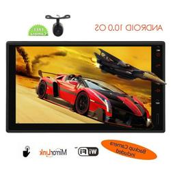 Android 10.0 7 Inch Double 2 Din Car Radio GPS Navigator Ste