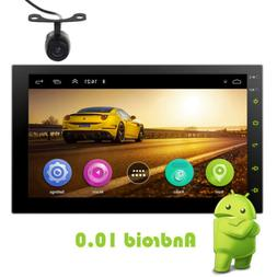 Android 10 7 Inch Car Stereo Radio No-DVD Player In Dash GPS