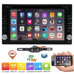 Android 6.0 Double 2Din Car Radio Stereo DVD Player GPS Navi