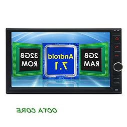 2GB 32GB Android 7.1 Car Stereo - Double Din Bluetooth 4.0 R