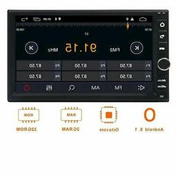 Android 8.1 Double Din Car Stereo,Car Radio Audio,EINCAR 7In