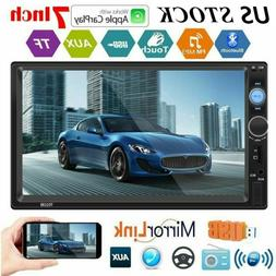Bluetooth 7-Inch HD Stereo Touch Screen Car MP5 Player FM Tr