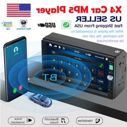 Bluetooth Car Radio Stereo 7 Inch Double 2DIN FM USB/MP5 Pla