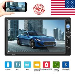 Bluetooth Car Stereo 7 inch HD Touch Capacitive Screen MP5 P