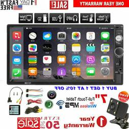 "7"" Inch 2 DIN Car Stereo Radio  HD MP5 FM Player Touch Scree"