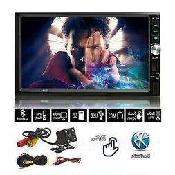 Brand New 7-Inch Stereo Touch Screen Double Din Radio with B