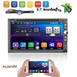 Car DVD audio video radio player Android 7.1 GPS Navigation