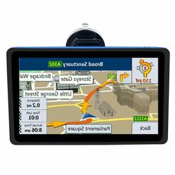 Car Gps Navigation 7 Inch Garmin With Maps Spoken Direction