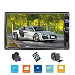 "Podofo Double Din Car Stereo/Audio/Radio, 7"" Touchscreen Dig"