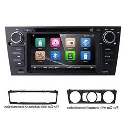 hizpo 7 Inch Car Stereo Multi-Touch Screen Radio CD DVD Play