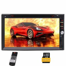 Double DIN 7 Inch Car Stereo Capacitive Touch Screen Multi L