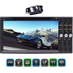 7-Inch Double Din Bluetooth Car DVD Player 1080P HD Capaciti