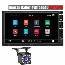 B Double Din Car Stereo 7 Inch Capacitive Touch Screen and 1