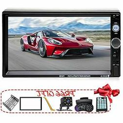 Double Din Car Stereo In-Dash Bluetooth Touch Screen 7 Inch