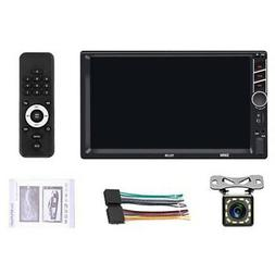 Double Din Car Stereo Radio 7 Inch Press Screen D-Play Unive