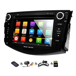 Double Din Radio Car Stereo with Navigation for Toyota RAV4