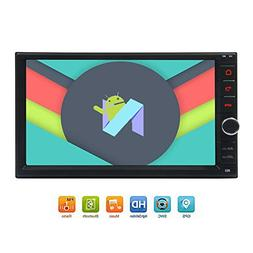 "Newest 8-Core Android 7.1 Car Stereo with 7"" Touchscreen In"