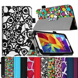 Folio Case Stand Leather Cover for Samsung Galaxy Tab 4 Nook