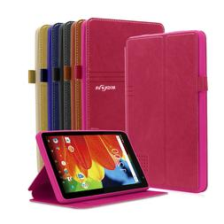 Folio PU Leather Case  Cover for RCA 7 Voyager & RCA Voyager