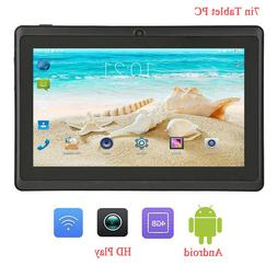 7 Inch G-Sensor Tablet Q88 Android 4.4 A33 Quad Core 4GB ROM