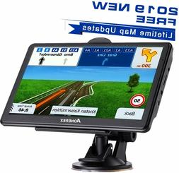 GPS Navigation 7 inch HD Universal 8 GB ROM 256 MB Lifetime