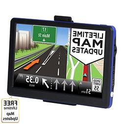 GPS Navigation for Car, 7 inch 8GB Touchscreen Voice Remindi