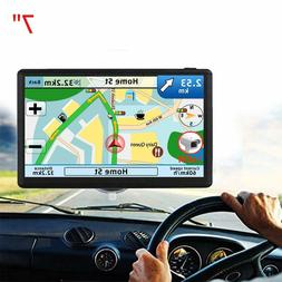 GPS Navigation car 7 inch Touch Screen HD 256-8GB Voice Broa