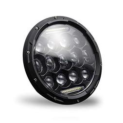 1pc H4/H13 7 Inch 150W LED Headlight Lamp with DRL IP67 Wate