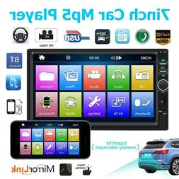 HOT~ 7018B Car Radio 7 Inch Dash Audio MP5 Player 1080P Rear